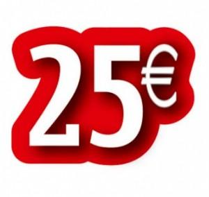 HOOFDFOTO AANBIEDING 25 EURO